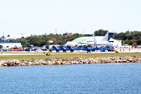 Another view of the Blue Angels