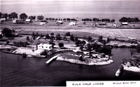 Aerial View of East Point on Middle Bass Island