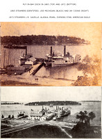 Put-in-Bay Dock, 1865 and 1872