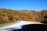 Fall Colors in the Deep Gap Area of Clay County, NC, Oct. 17, 2012